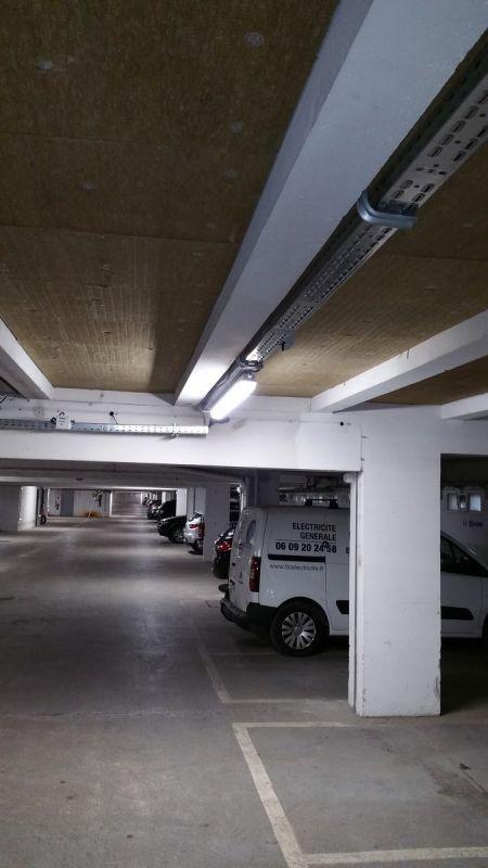 R novation compl te de l 39 lectricit d 39 un parking sous for Garage courant automobile vesoul