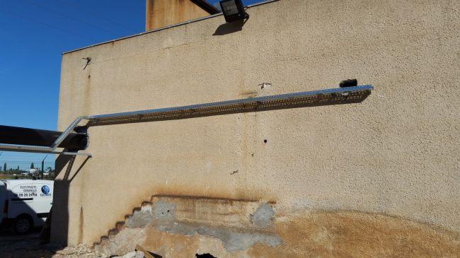 R alisations de notre soci t d 39 lectricit marseille - Cable electrique pour eclairage exterieur ...
